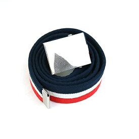 【中古】Supreme シュプリーム 06SS Web Belt トリコロールガチャベルト レッド×ホワイト×ネイビー