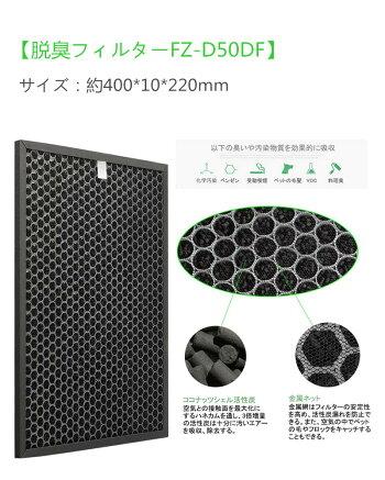 SHARP空気清浄機フィルター加湿空気清浄機用交換フィルターFZ-D50HF脱臭フィルターFZ-D50DF集じんフィルター匂い花粉対策HEPAFZ-F50DF交換用非純正KC-500Y6KC-500Y7KC-500Y8KC-500Y9KC-50E2KC-50TH1KC-50TH2