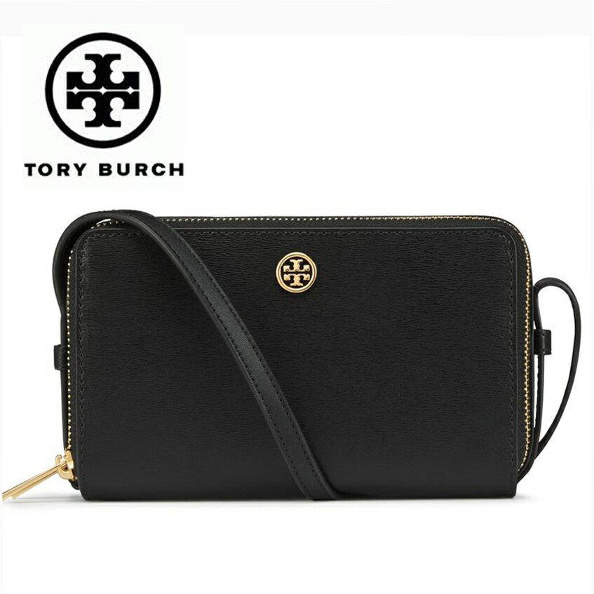 トリーバーチ バッグ ダブルジッパーショルダーバッグ Tory Burch PARKER DOUBLE-ZIP MINI BAG BLACK