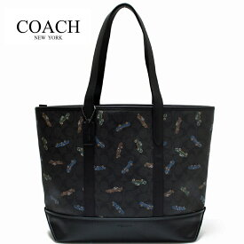 4def0584465f コーチ メンズ バッグ トートバッグ シグネチャー ウェスト カー プリント シティー トート アウトレット COACH WEST TOTE IN