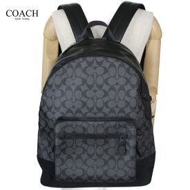 e9e95725a8a6 コーチ メンズ バッグ リュック バックパック アウトレット シグネチャー COACH WEST BACKPACK IN SIGNATURE  CANVAS