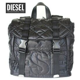 ディーゼル バッグ リュック ナイロン バックパック DIESEL DUVET BACKPACK X05765 P1825 ブラック