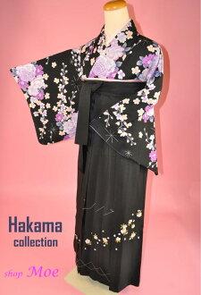 畢業袴式和服和袴設置的安全設置儀式也 ! 學校的老師 ! 024