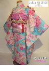 Moe♪レンタル・七五三・七歳着物7歳式部浪漫ブランド着物フルセット026