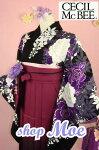 Moe♪レンタル卒業式貸衣装貸衣裳袴スタイルCECILMcBEE着物袴セット安心フルセットレンタル!32