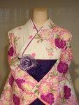 レンタル卒業式袴スタイルヒロミチナカノブランド二尺袖着物袴セット019