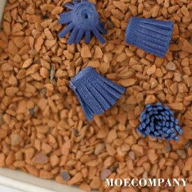 花の芯【10個入り】スーパー繊維(高強度+高弾性の繊維)紺色紺色 花の芯 タッセル材料 花材 アートフラワー材料 クラフト 手芸 手芸材料 造花材料 petal