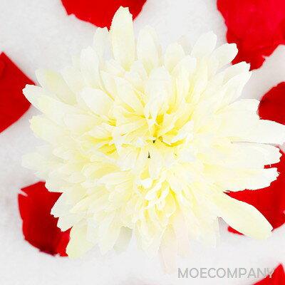 【花のみ】アーティフィシャルフラワー ダリア シルクフラワー 造花 フェイクフラワー 花 フラワー アクセサリー ブローチ コサージュに