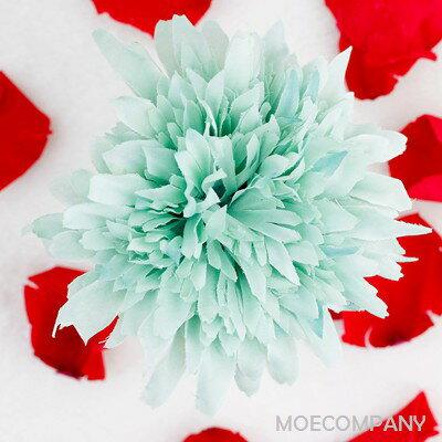 【花のみ】アーティフィシャルフラワー オレンジ シルクフラワー 造花 フェイクフラワー 花 フラワー アクセサリー ブローチ コサージュに