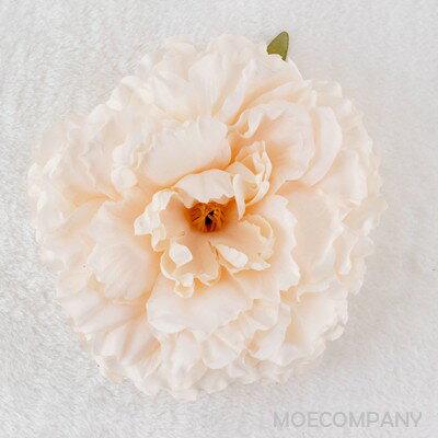 大感謝祭 【花のみ】アーティフィシャルフラワー 大輪咲き ボタン シルクフラワー 造花 フェイクフラワー 花 フラワー アクセサリー ブローチ コサージュに