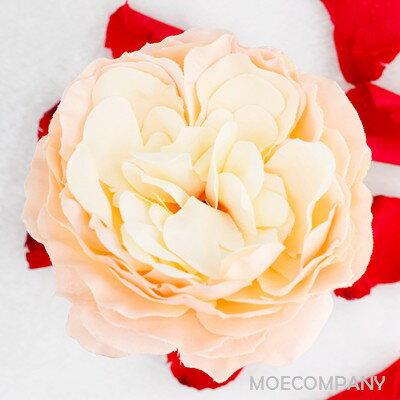 【花のみ】アーティフィシャルフラワー バラ シルクフラワー 造花 フェイクフラワー 花 フラワー アクセサリー ブローチ コサージュに silkflower