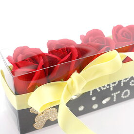 ソープフラワー【ハンドメイド】石鹸のお花 BOX 手作りプレゼント 心のこもったギフト 誕生日 還暦 出産 お見舞い 石鹸
