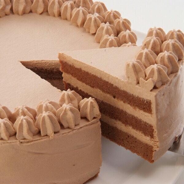卵・小麦粉・乳製品不使用のチョコデコ12cm 米粉ケーキ