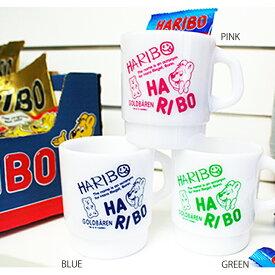 スタッキング マグカップ HARIBO(ハリボー)・お弁当箱やお箸セットと一緒にシンプルな英字プリントのプラスチックカップ♪おしゃれなのでオフィスでの使用やギフトにもおすすめのプラカップです♪幼稚園や保育園の子供用プラコップにも!アメキャラ 学童