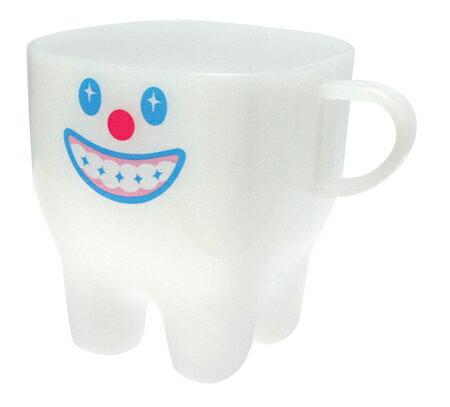 プラカップ ティース よい歯(Plastic Cup Tooth good)GLADEE(グラディー)かわいいプラスチックコップ!ランチのお弁当や歯磨きコップに最適!幼稚園や保育園キッズの子供用コップにも!プラスチックコップ/プラスチックカップ 通園グッズ 割れない食器