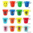 プラスチックコップ 4個セット(Colorful MUG Cup)かわいいプラカップ、ランチでのお弁当や歯磨きに使えるプラマグ♪男の子や女の子の幼稚園や保育園キ...
