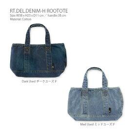 【メール便送料無料】RT.DEL.DENIM-H(デリ デニム H) ROOTOTE(ルートート)・ランチバッグ ランチトート ミニトートバッグ