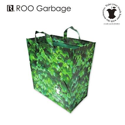 RT.R-GARBEGE-Bc-plt(ルーガービッジBカラープレート)トートバッグ型ダストボックス。レジャーバッグ・ビーチやキャンプなどアウトドアにおすすめのビッグトートバッグ!厚手のレジャーシート素材で水に強い♪簡易ゴミ箱/ストレージボックス/おかたづけ/ごみ箱