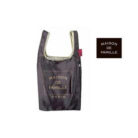 【メール便送料無料】ルーショッパー メゾンドゥファミーユ ミニ・折りたたみ式でコンパクト♪おしゃれ ブランド かわいい エコバッグ エコバック レジ袋型 グッズ 可愛い 折り畳み 軽量 軽い ショッピングバッグ 買い物バッグ プールバッグ サブバッグ 小さめ 小さい
