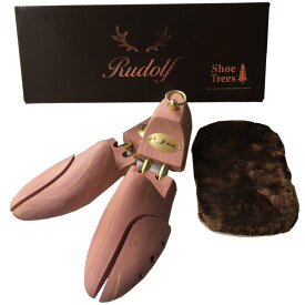 【送料無料】木製シューキーパー レッドシダー メンズ シューツリー アロマティック Rudolf ルドルフ