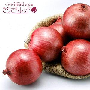 さらさらレッド 5kg 赤玉ねぎ 北海道 夕張郡 栗山町 日本で唯一の生産地 健康 たまねぎ 常温保存 赤玉 濃厚な味わい 甘み 希少 生産数限定 ポリフェノール ケルセチン アントシアニン なまら