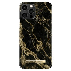 iDEAL OF SWEDEN アイディールオブスウェーデン iPhone12Pro iPhone12 アイフォン ケース カバー スマホケース ブラック ゴールド 黒 金