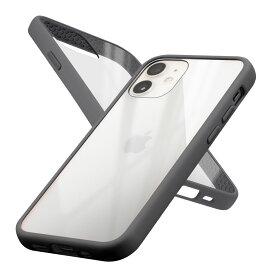 Campino カンピーノ iPhone12mini アイフォン ケース カバー スマホケース Anti-shock Slim Case ブラック 黒 ネコポス便配送 クリア 透明