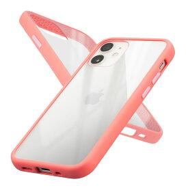 Campino カンピーノ iPhone12mini アイフォン ケース カバー スマホケース Anti-shock Slim Case ピンク 黒 ネコポス便配送 クリア 透明