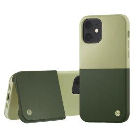 Campino カンピーノ iPhone12mini OLE stand II アイフォン ケース カバー スマホケース グリーン 緑 みどり ネコポス便配送 スタンド