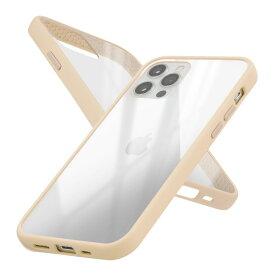Campino カンピーノ iPhone12Pro iPhone12 アイフォン ケース カバー スマホケース Anti-shock Slim Case ベージュ ネコポス便配送 クリア 透明