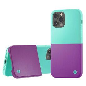 Campino カンピーノ iPhone12Pro iPhone12 OLE stand II アイフォン ケース カバー スマホケース ブルー パープル 紫 青 グリーン 緑 ネコポス便配送 スタンド
