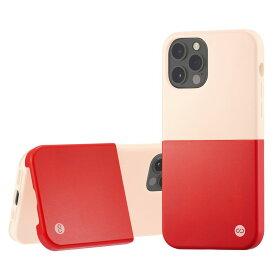 Campino カンピーノ iPhone12Pro iPhone12 OLE stand II アイフォン ケース カバー スマホケース ピンク ホワイト 赤 白 ネコポス便配送 スタンド
