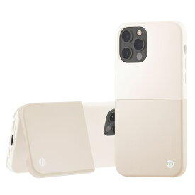 Campino カンピーノ iPhone12Pro iPhone12 OLE stand II アイフォン ケース カバー スマホケース シルバー ホワイト 白 銀 ネコポス便配送 スタンド