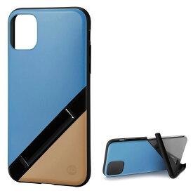 Campino カンピーノ iPhone 11Pro OLE stand アイフォン ケース カバー スマホケース ブルー ベージュ 青 ネコポス便配送 スタンド