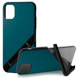 Campino カンピーノ iPhone 11 OLE stand アイフォン ケース カバー スマホケース ブルー 青 ネコポス便配送 スタンド