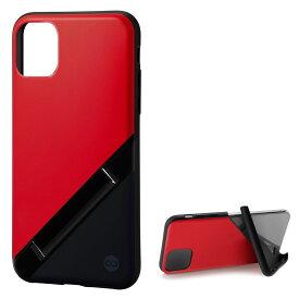 Campino カンピーノ iPhone 11 OLE stand アイフォン ケース カバー スマホケース レッド 赤 ネイビー 紺 ネコポス便配送 スタンド