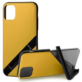 Campino カンピーノ iPhone 11 OLE stand アイフォン ケース カバー スマホケース イエロー 黄 ネコポス便配送 スタンド