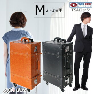 문 득 여행에 나는 가방이 『 4 륜 운반 케이스 일반 유형 M 사이즈 』