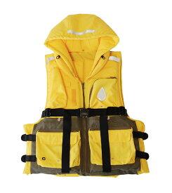 フローティングジャケット 多ポケット 災害時避難用『ハコベストフローティングジャケット(大人用)』