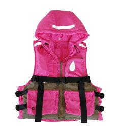 フローティングジャケット 多ポケット 災害時避難用『ハコベストフローティングジャケット(子供用)』