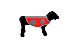 愛犬の安全ベスト セーフティベスト 犬服 交通安全 散歩用 安全ベスト ドッグウエアー 蛍光 反射 セーフティードッグベスト