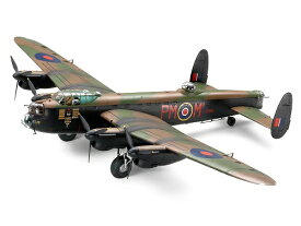 1/48 アブロ ランカスターB Mk,1/3 人形5体、マーキング4種類、塗装済み風防付き