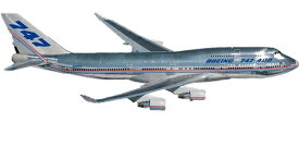 """1/200 ボーイング 747-400 """"デモンストレイター"""""""