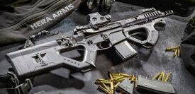 HERA ARMS CQR 電子トリガーMOS-FETver BKカラー(ICS×ASG)