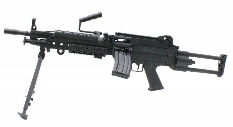 【予約品】【2019年4月発売予定】S&T・M249 ミニミ スポーツライン