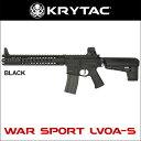 KRYTAC(クライタック)WARSPORT LVOA-S (WAR SPORT社正式ライセンス商品)カラー:ブラック