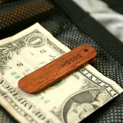 ■木製マネークリップ「Money Clip」