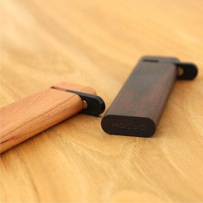 黒いフタ部分にマグネットを使用しているので、携帯時・持ち運び中でも爪楊枝が外に出る事がありません