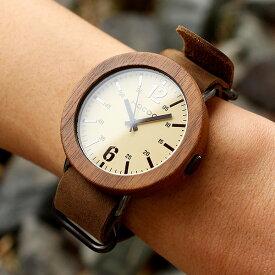 ■天然木をおしゃれに組み込んだ木製腕時計「Wooden Watch NATO STYLE」メンズ/レディース