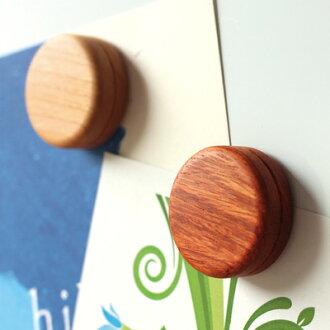 """■像マカロン那样丰富多彩,可爱的木制磁铁安排""""Macarons""""/北欧风式样"""